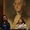 Maria Cristina Betancur testifies, and Stephanie Gonzalez translates.
