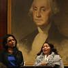 Maria Cristina Betancur testifies, and Stephanie Gonzalez translates.