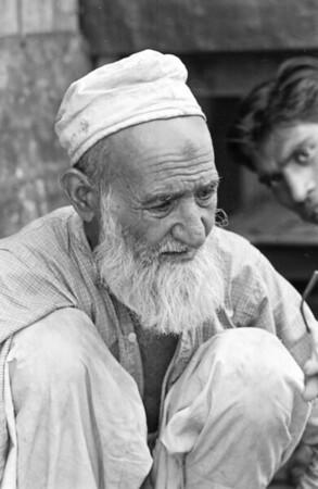 In Chandni Chowk, Delhi, April 1969.