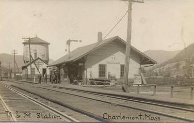 Charlemont B & M RR Station