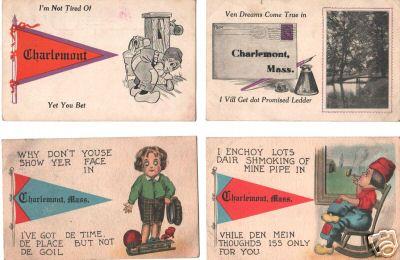 Charlemont Comic cards