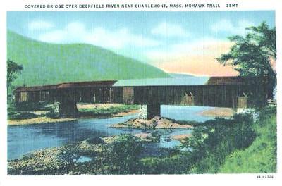 Charlemont Covered Bridge 1930