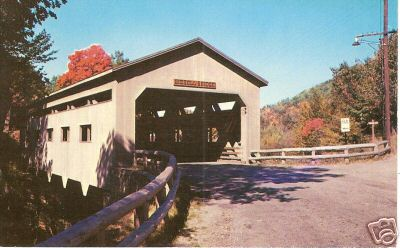 Charlemont Bissel Covered Bridge