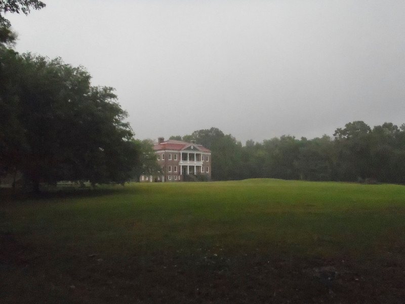 Drayton Hall (it was raining hard when i took this so i worked the contrast to make it look like an oil painting (or so I think!)