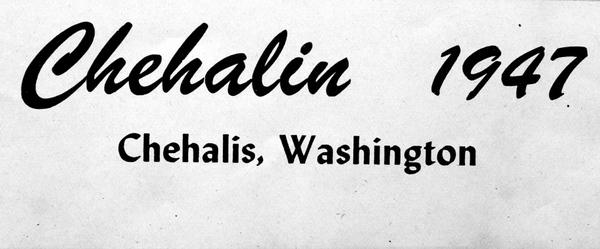 Chehalin 1947