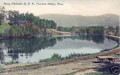 Cheshire Harbor Along Pittsfield St RR