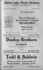 Springfield Chic Directory Ads 1920 05
