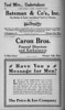 Springfield Chic Directory Ads 1920 08
