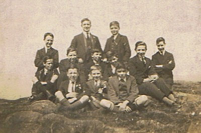 Choir Boys outing to Windermere 9th August 1904