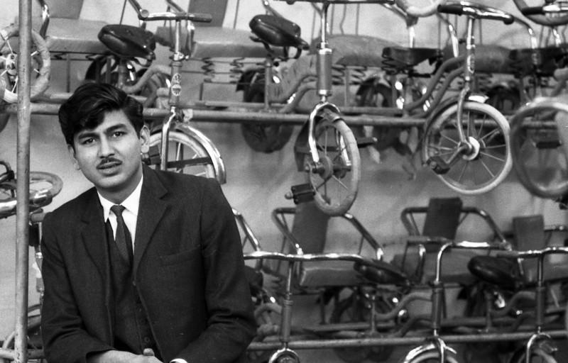 Chandni Chowk bike shop.