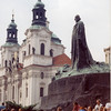 John Huss statue, Prague, Czech Rep.