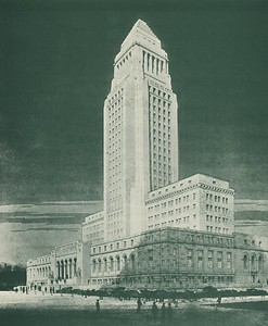 1928, Los Angeles City Hall