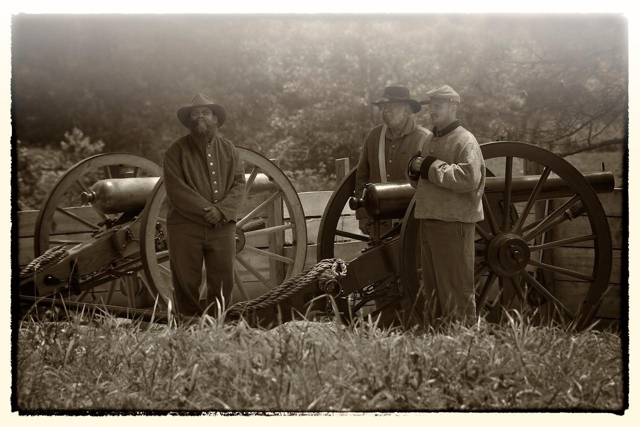 Gun Crew, Resaca, GA