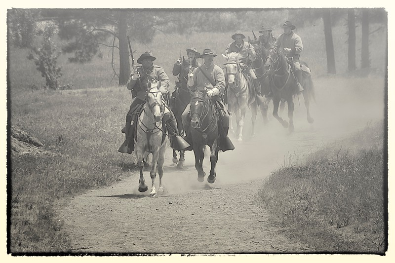 Confederate Riders, Resaca, GA