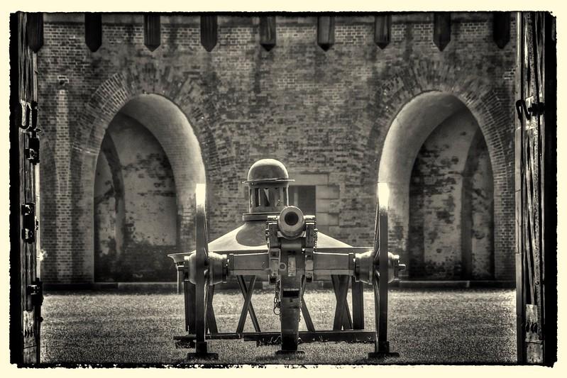 Fort Pulaski Guns, Savannah, GA