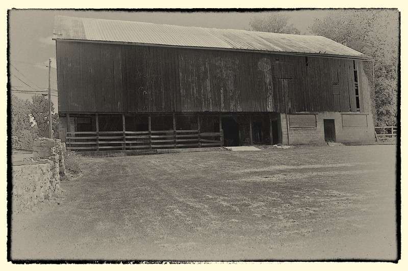 Civil War Era Barn, Antietam, MD