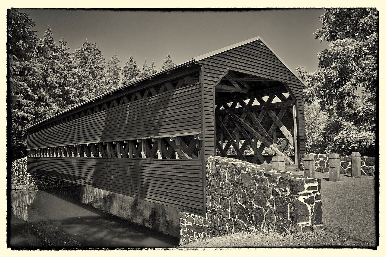 Old Sach's Covered Bridge, Gettysburg, VA
