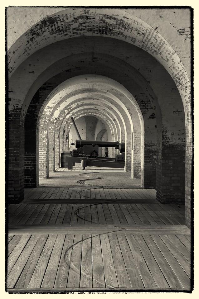 Fort Pulaski Gun Emplacement, GA