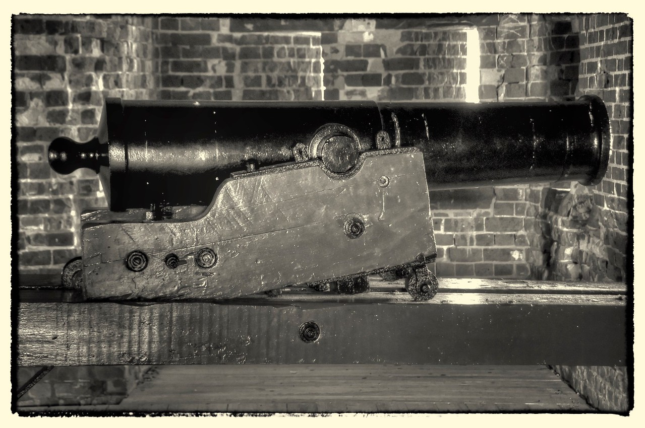 Fort Pulaski Guns, GA