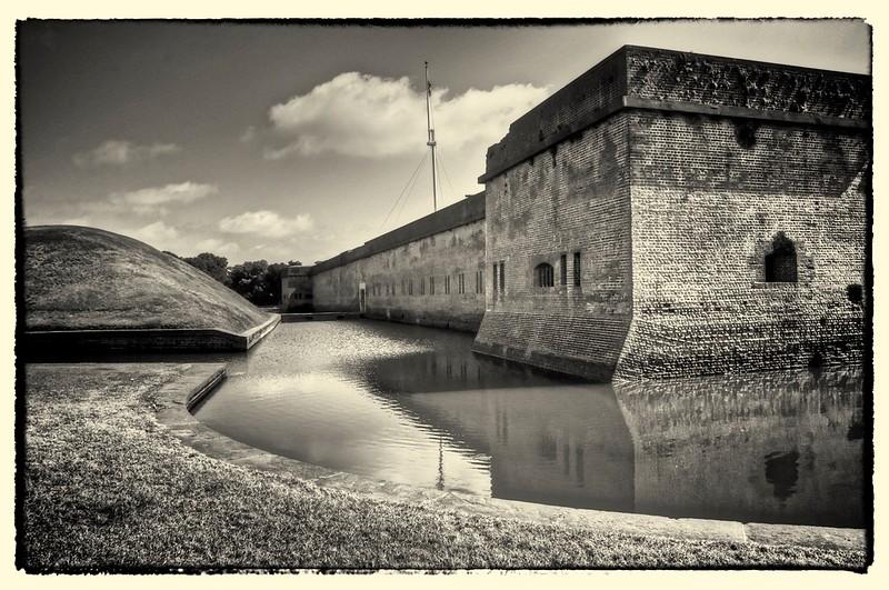 Fort Pulaski Civil War Fort, Savannah, GA