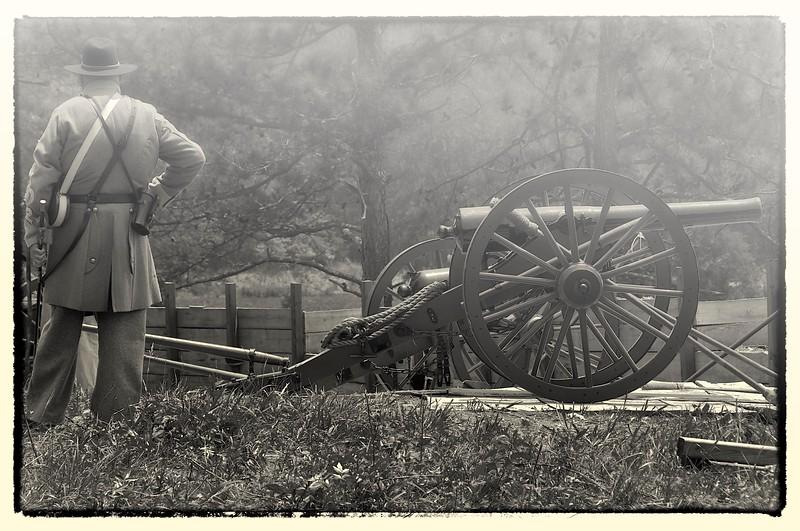 Confederate Gunner, Resaca, GA