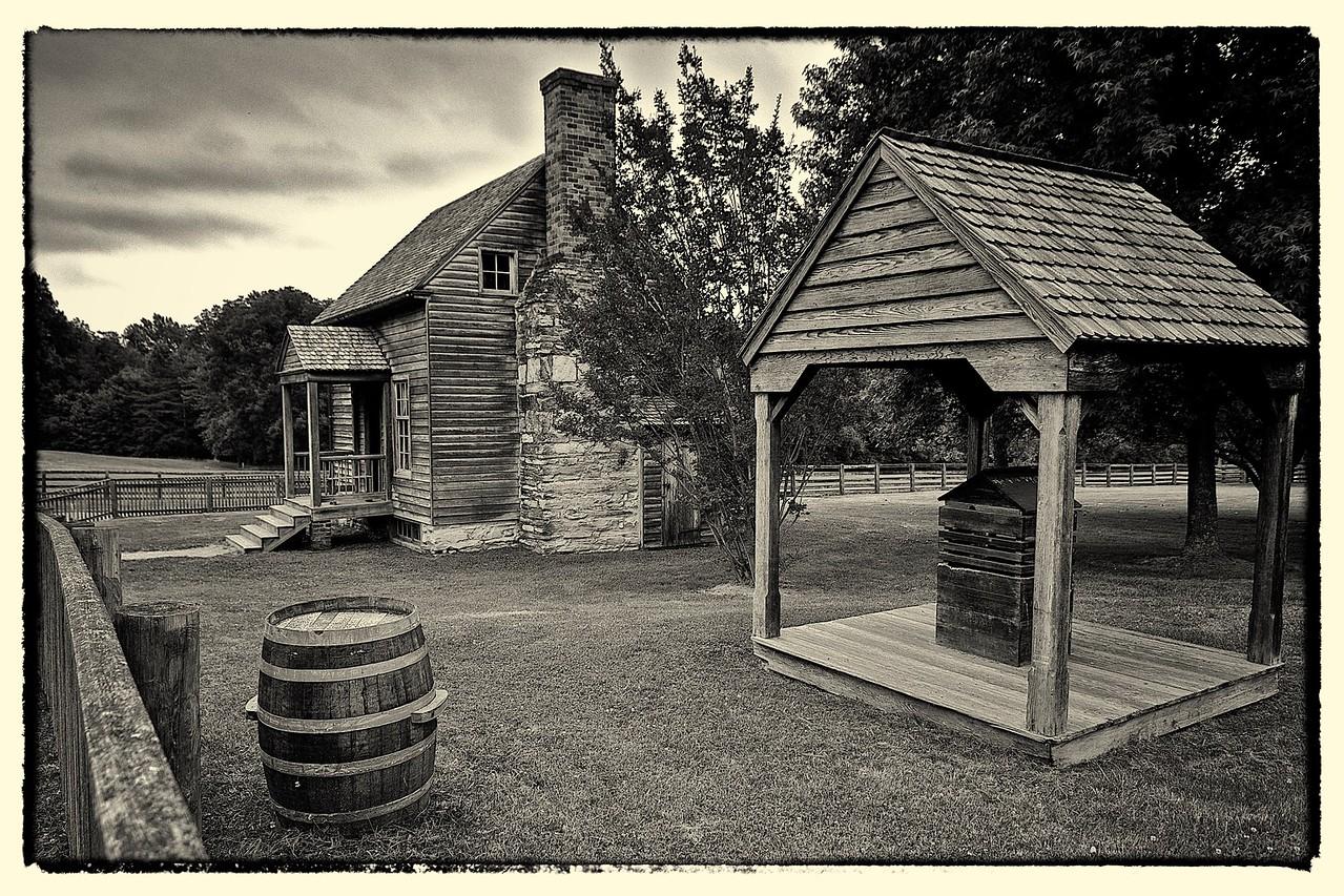 Cabins Along Richmond Stage Road, Appomattox Court House, VA