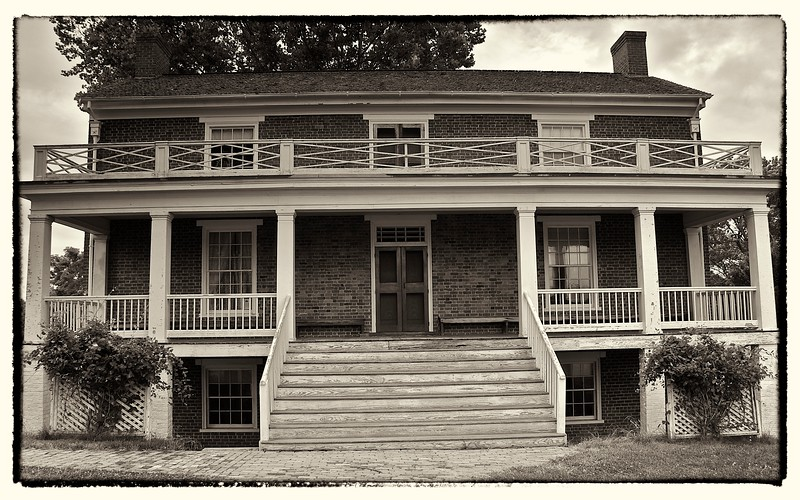McLean Surrender House, Appomattox Court House, VA