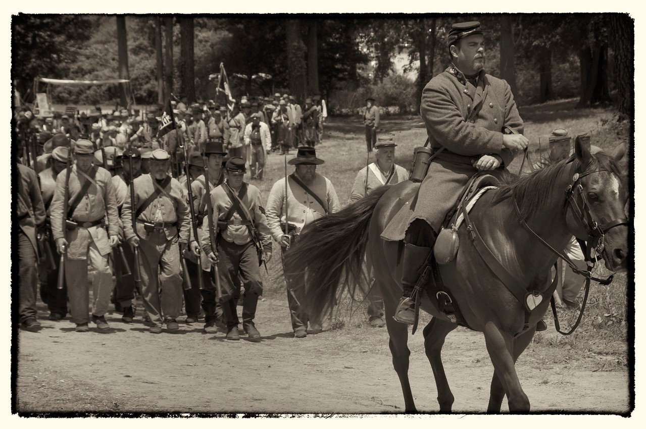 Marching to the Front, Resaca, GA