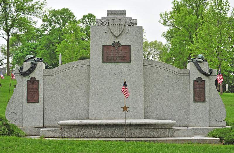 Soldiers memorial - Lakewood Cemetery, Minneapolis.
