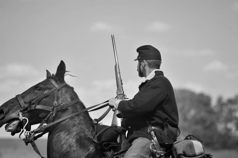 Wasioja Civil War Days 2013 - 99999983 bw
