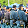 First & Second Minnesota Volunteer Infantries taking part in the Lakewood Cemetery Memorial Day Ceremony