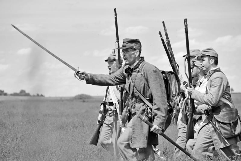 Wasioja Civil War Days 2013 - 99999999 bw