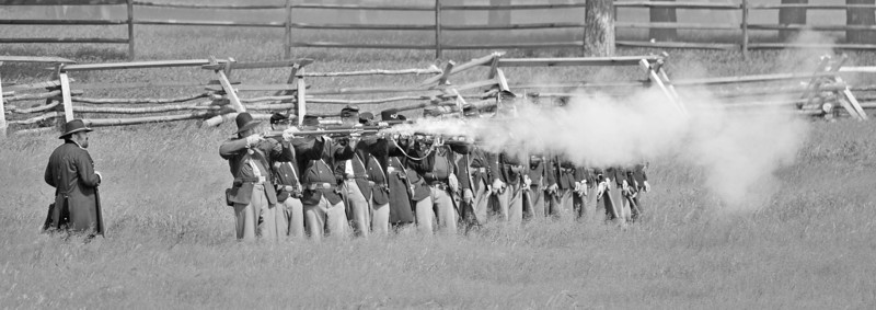 Wasioja Civil War Days 2013 - 96 bw