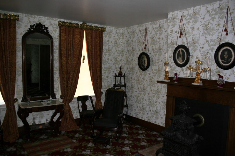 Sitting Room - This room just inside the entryway on the ground floor is where Lincoln and Mary entertained their guests.  The children were expressly forbidden to enter this room.