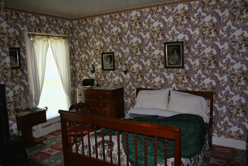 Mary's Bedroom - Common for the time period, Abraham and Mary slept in separate bedrooms.  According to our guide this was as much to do with Lincoln working many late nights as it was to privacy...