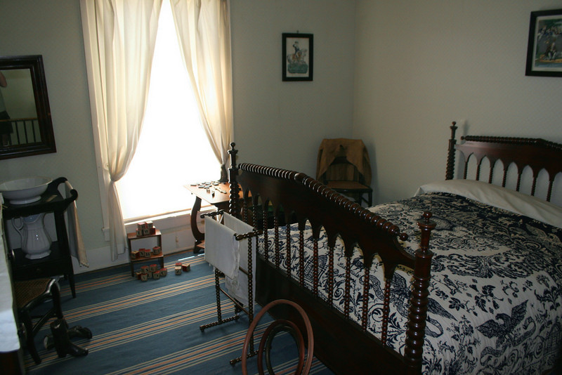 The Kid's Room - This is where the four Lincoln boys would spend their nights, across the hall from their parents.