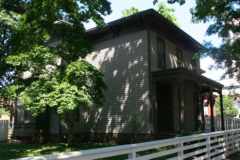 Henson Lyon House (ca. 1850's) - In 1860 this house was occupied by Henson Lyon and his family.  Mr. Lyon at the time was a retired farmer and land speculator and was fairly wealthy.