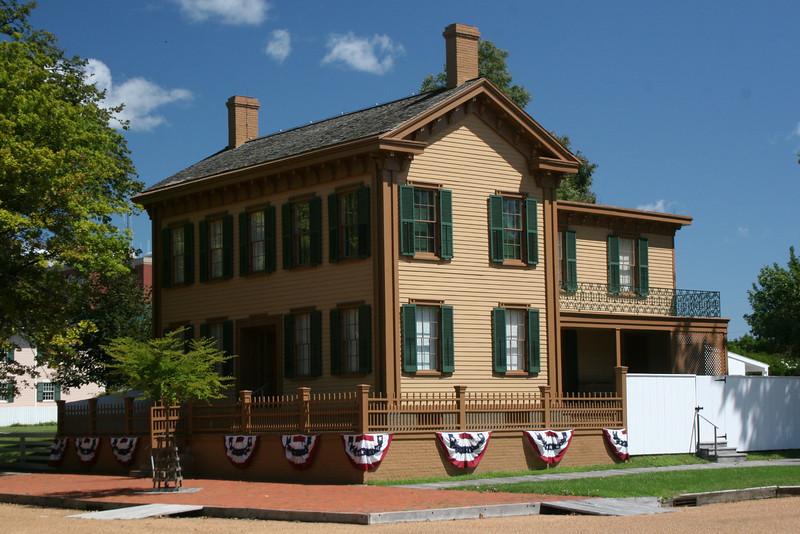 Lincoln Home National Historic Site, IL (8-22-09)