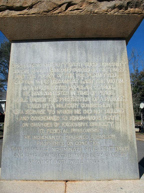 Wirtz Monument