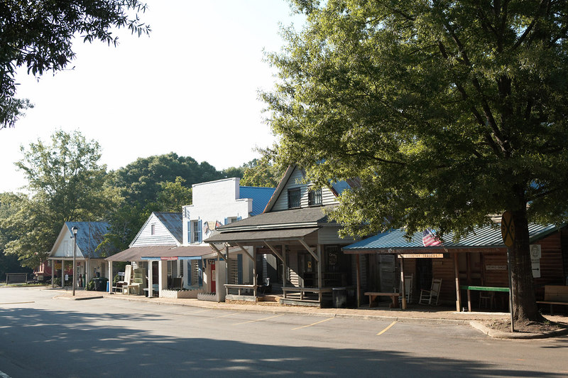 The village of Andersonville, Georgia