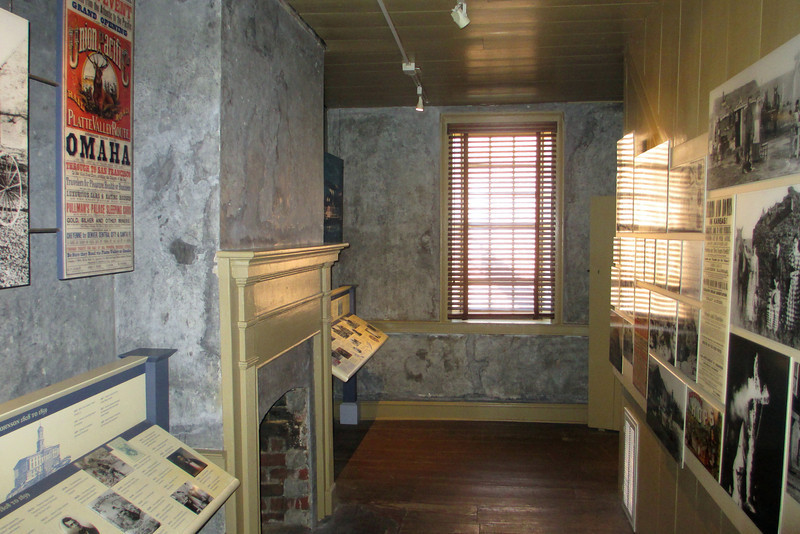 <b>Early Home</b> - Inside Johnson's early home are a number of exhibits which trace his political journey from Mayor of Greeneville to the Vice Presidency...