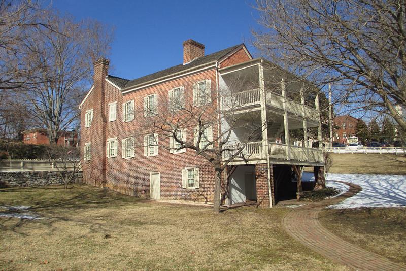 Andrew Johnson National Historic Site, TN (1-31-14)