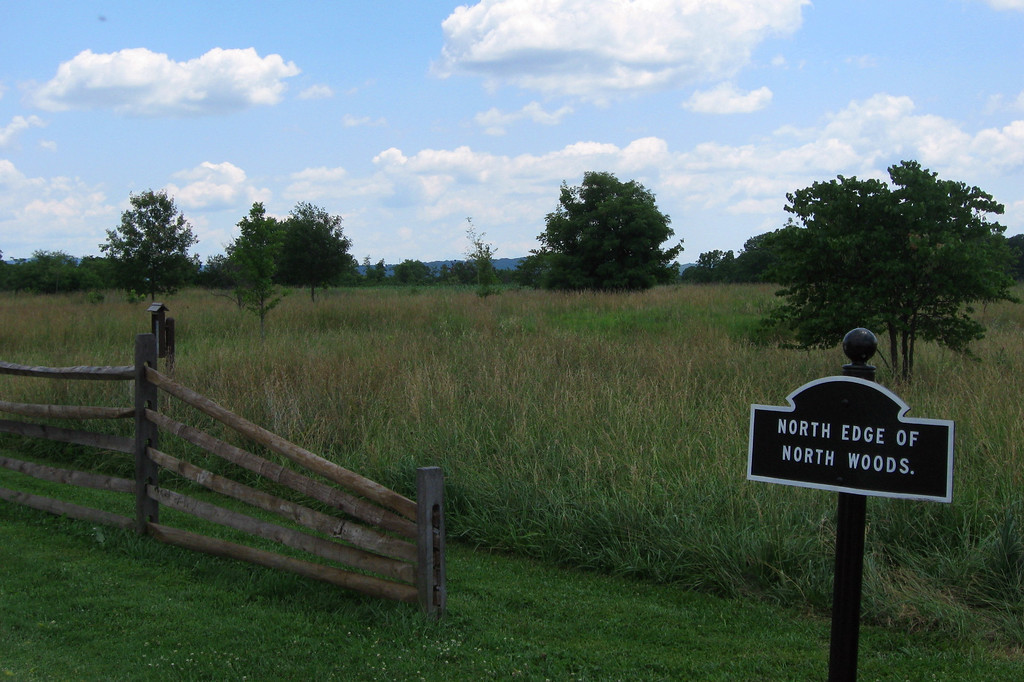 Battle of Antietam (Sharpsburg) - North Woods