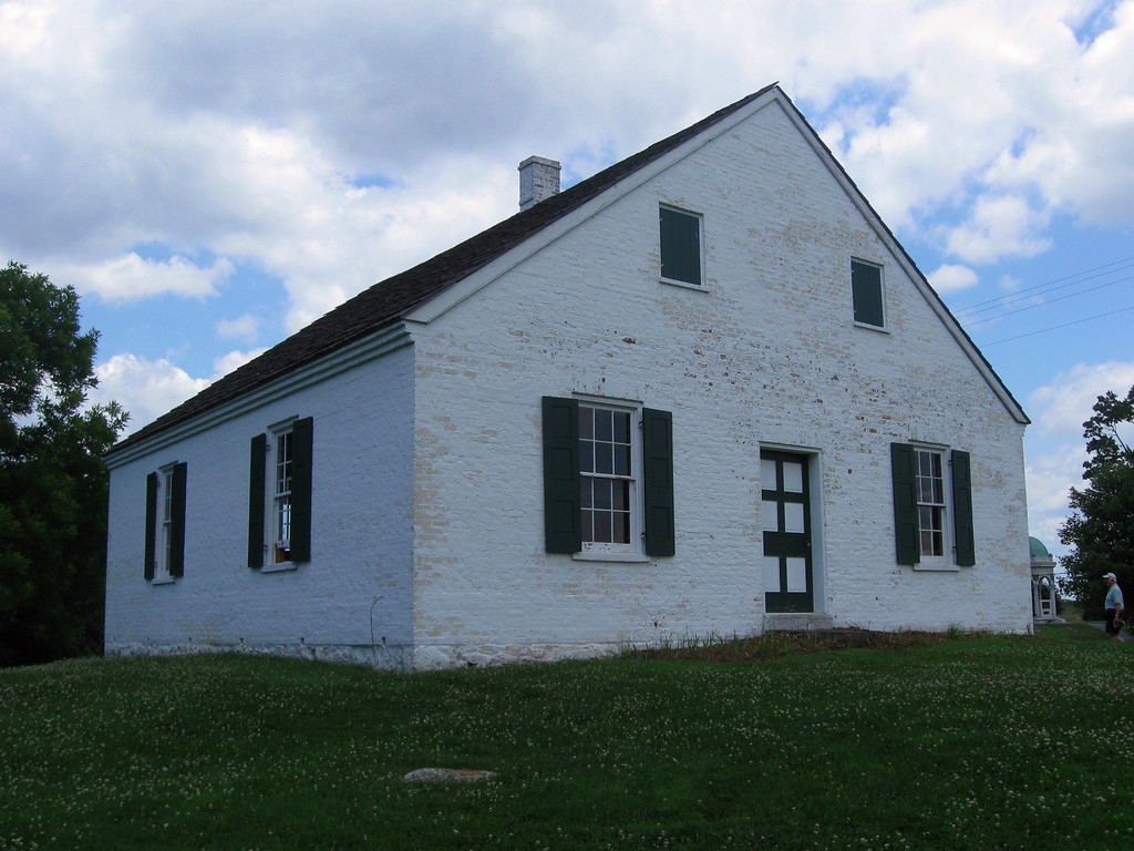 Battle of Antietam (Sharpsburg) - The Dunker Church...