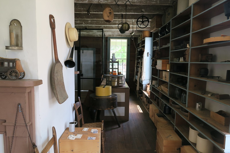 Plunkett-Meeks Store (ca. 1852) - Interior