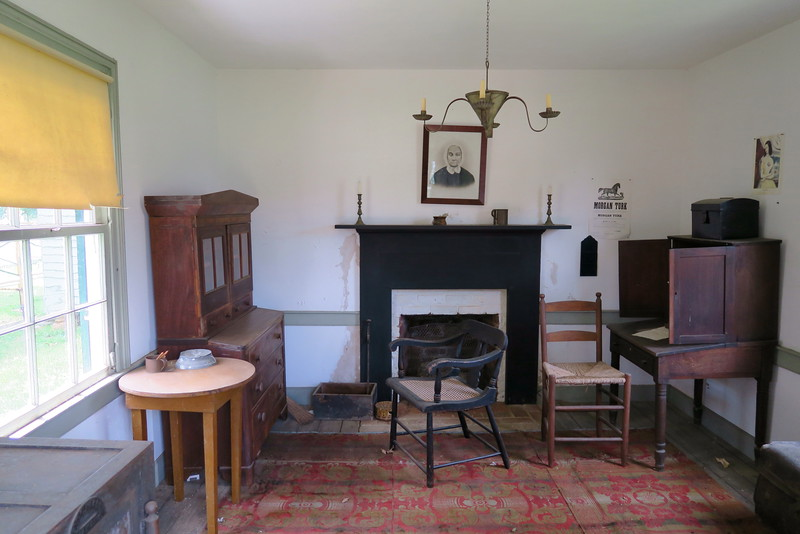 Woodson Law Office (ca. 1851) - Interior