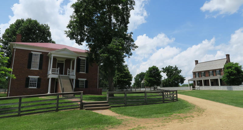 Appomattox County Courthouse (ca. 1846) & Clover Hill Tavern (ca. 1819)