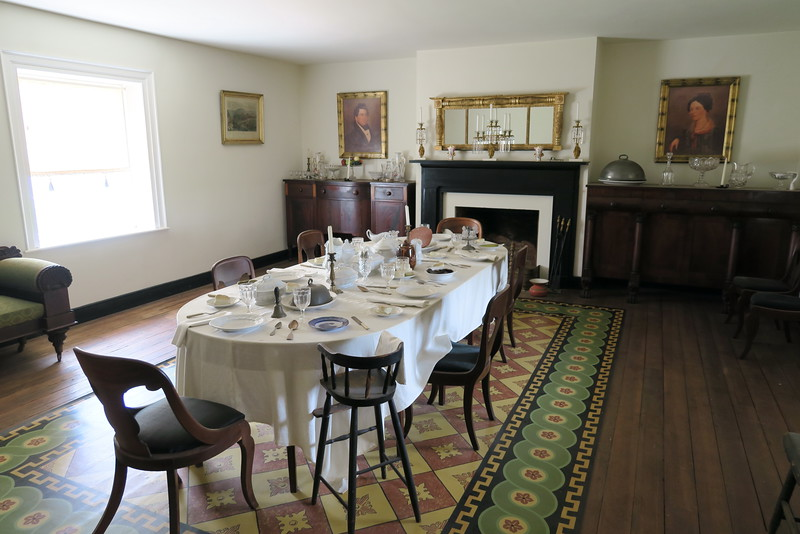 McLean House (ca. 1848) - Dining Room