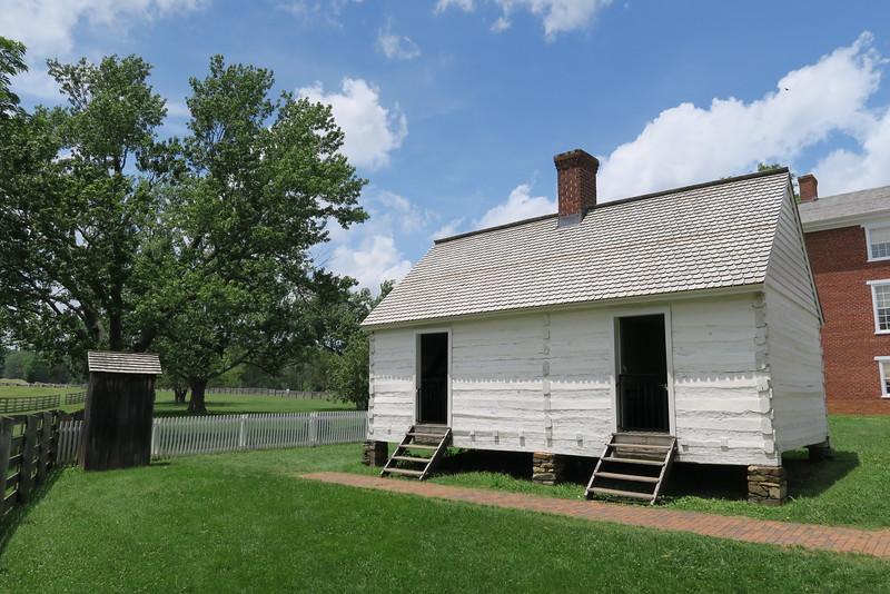 McLean House (ca. 1848) - Servant (aka. Slave) Quarters