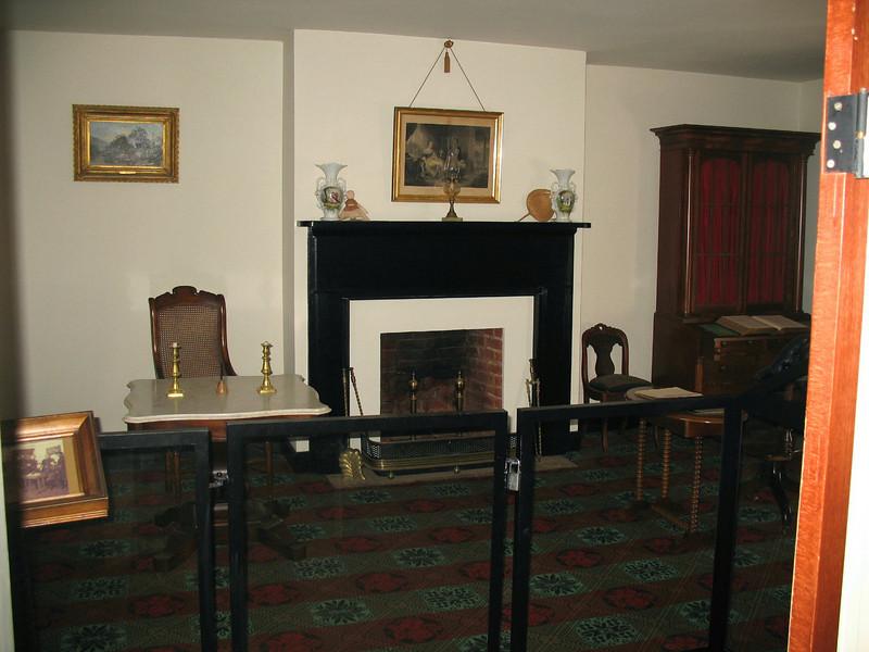 McLean House - Parlor